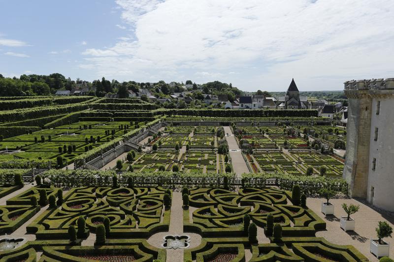 Les jardins Renaissance du château de Villandry