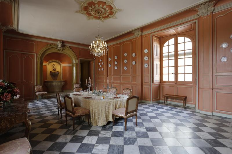 La salle à manger du château de Villandry