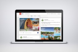 Page Google Plus Camping.info, Post Sérignan Plage