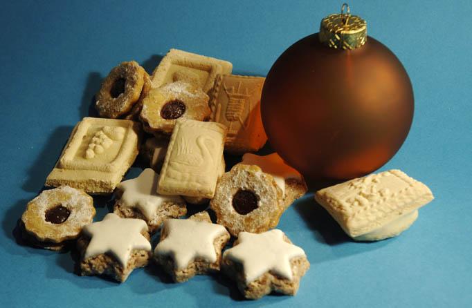 les traditionnels biscuits des Noël en Alsace