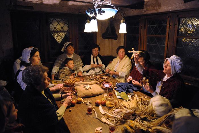 L'écomusée d'Alsace d'Ungersheim fait revivre les traditions de Noël d'autrefois