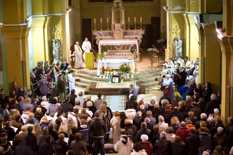 Messe de minuit en Provence