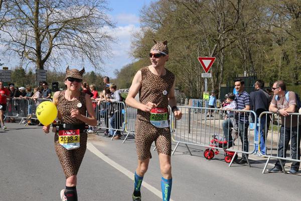 Il règne toujours une bonne ambiance au Marathon de Cheverny