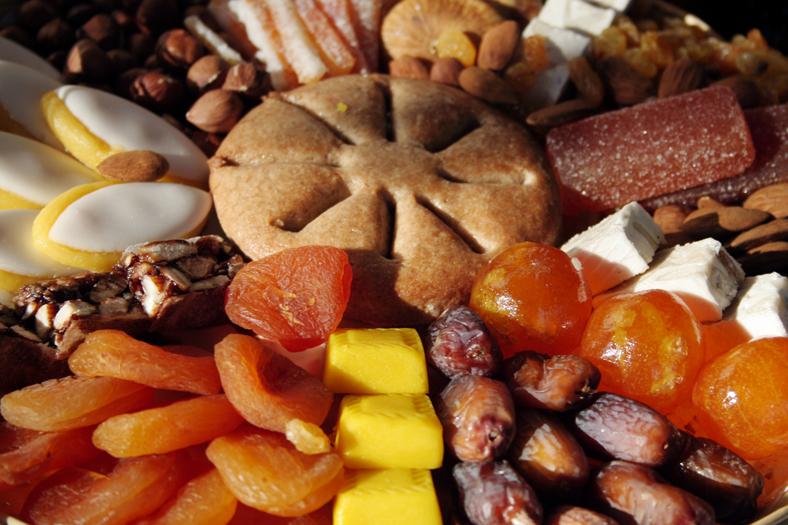Les treize desserts, tradition provençale de Noël