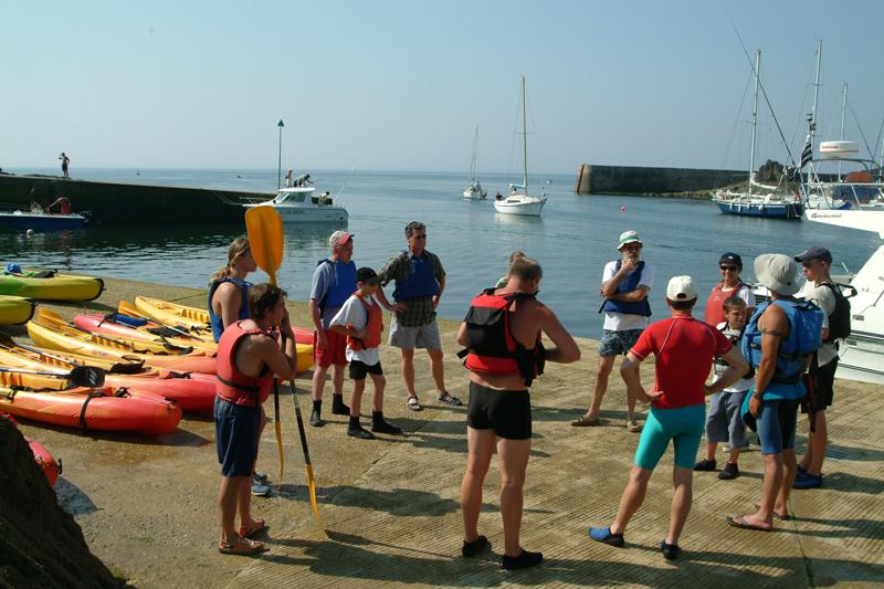 Le kayak en mer est une activité sportive très agréable
