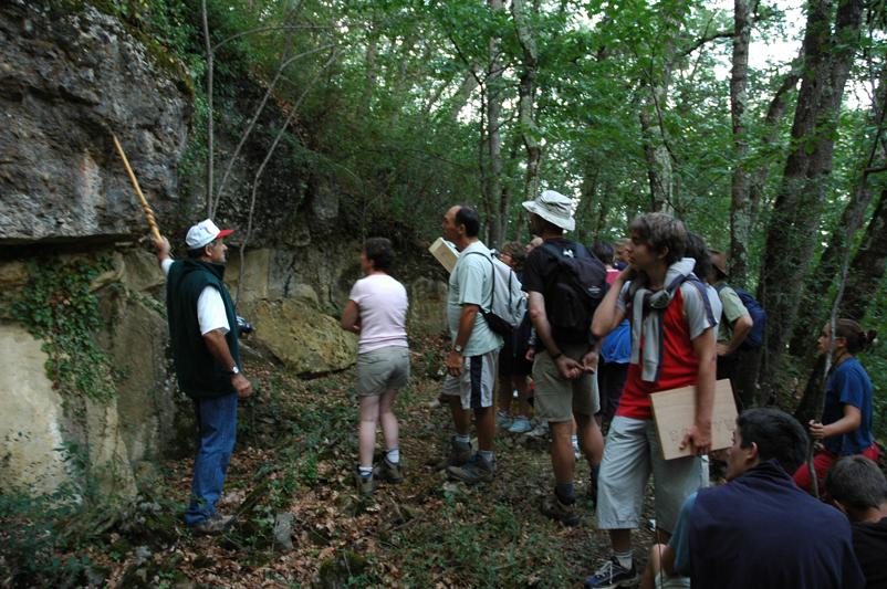 Balades nature commentées au camping La Serre d'Aigues-Vives
