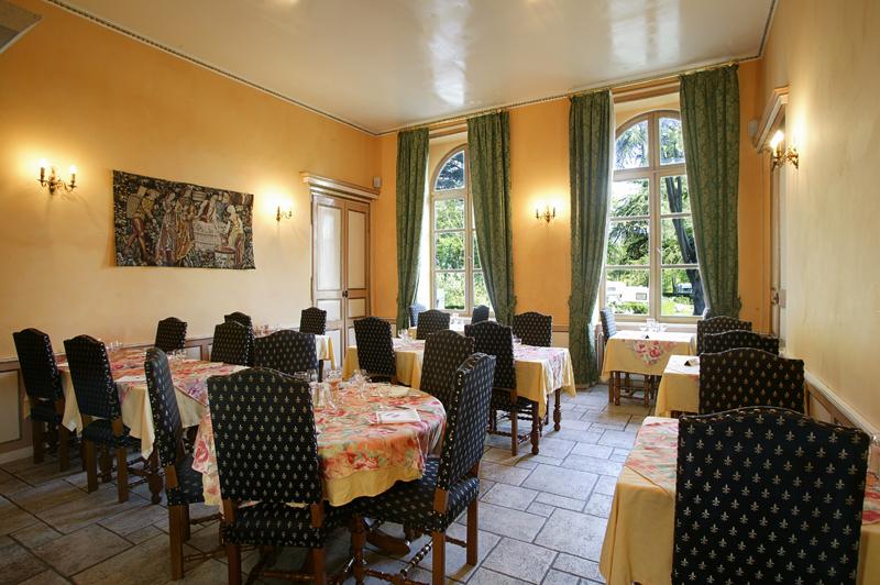 Le restaurant du Château de l'Épervière à Gigny-sur-Saône