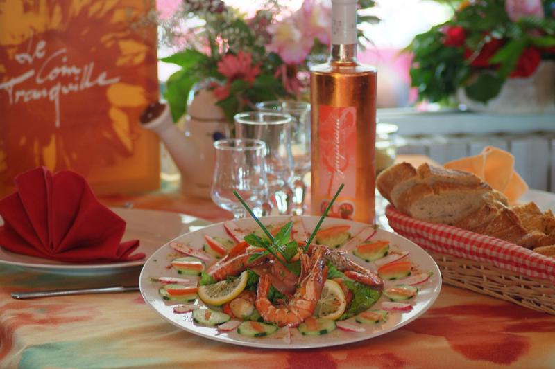Le chef du Coin Tranquille propose une cuisine aux goûts du jour