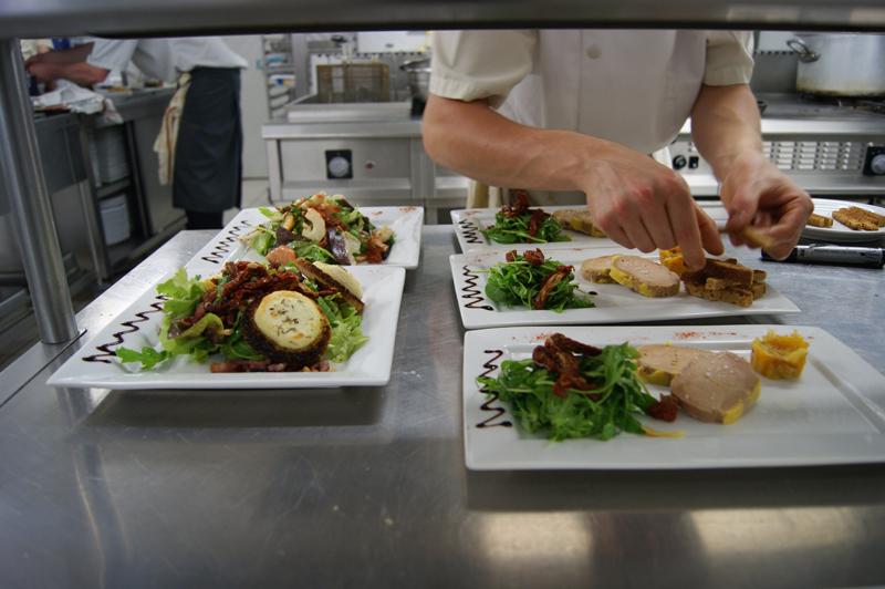 Le foie gras maison du chef du camping La Garangeoire