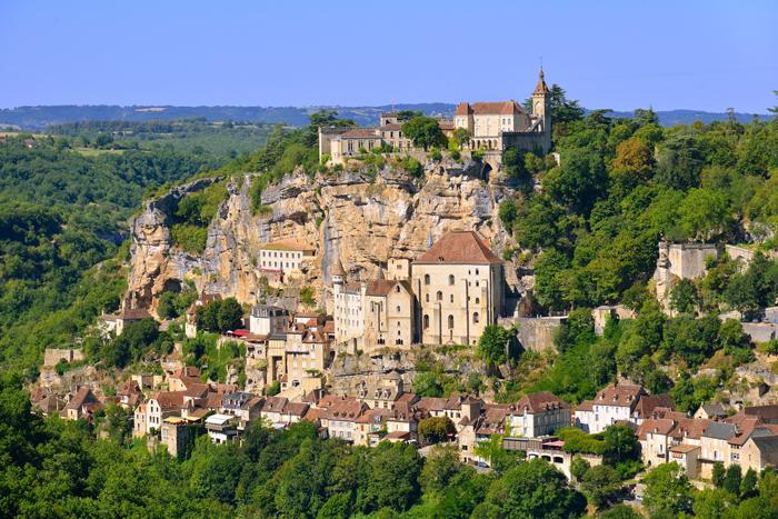 Le village de Rocamadour en Midi-Pyrénées