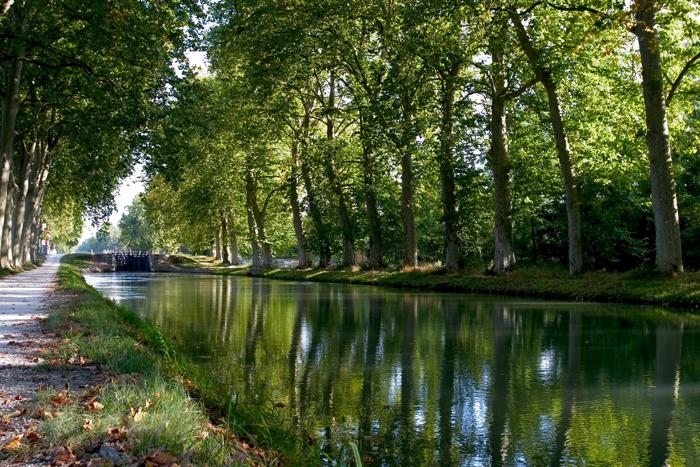 Le Canal du Midi en Midi-Pyrénées