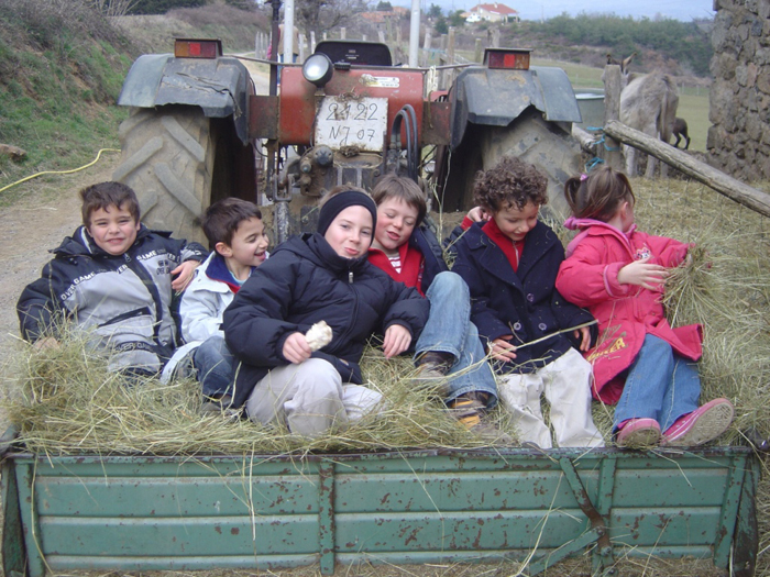 À la Ferme de Simondon à Plats en Ardèche