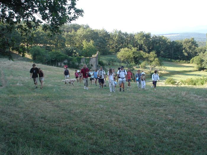 Randonnées pédestres pour les campeurs