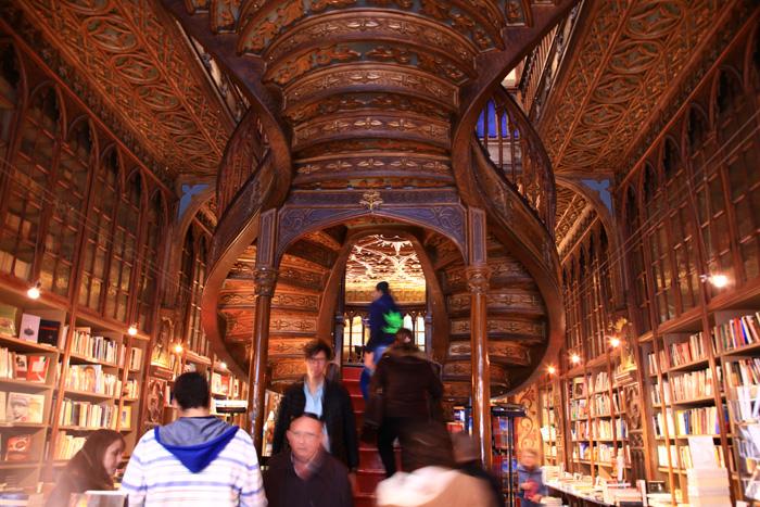 La librairie Lello & Irmão à Porto