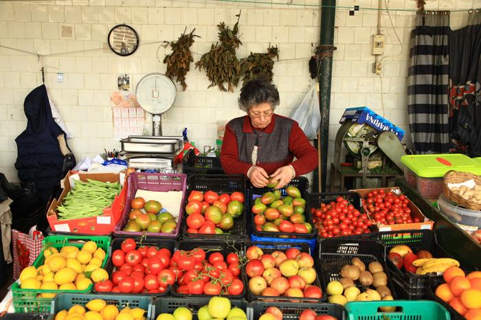 Le marché de Bolhào à Porto