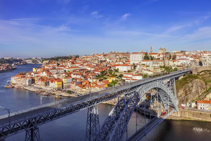 Le pont Dom Luís I à Porto