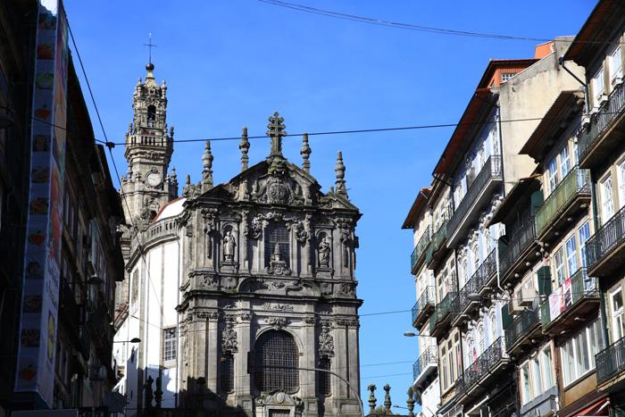 La torre dos Clérigos à Porto