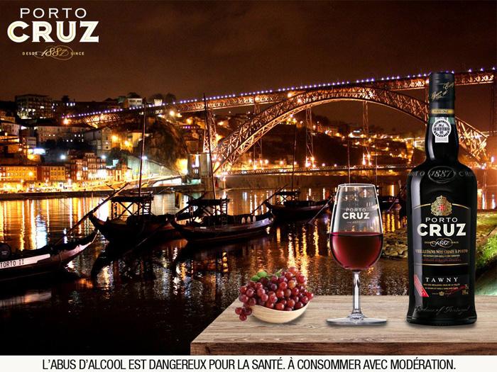 Publicité pour le Porto Cruz