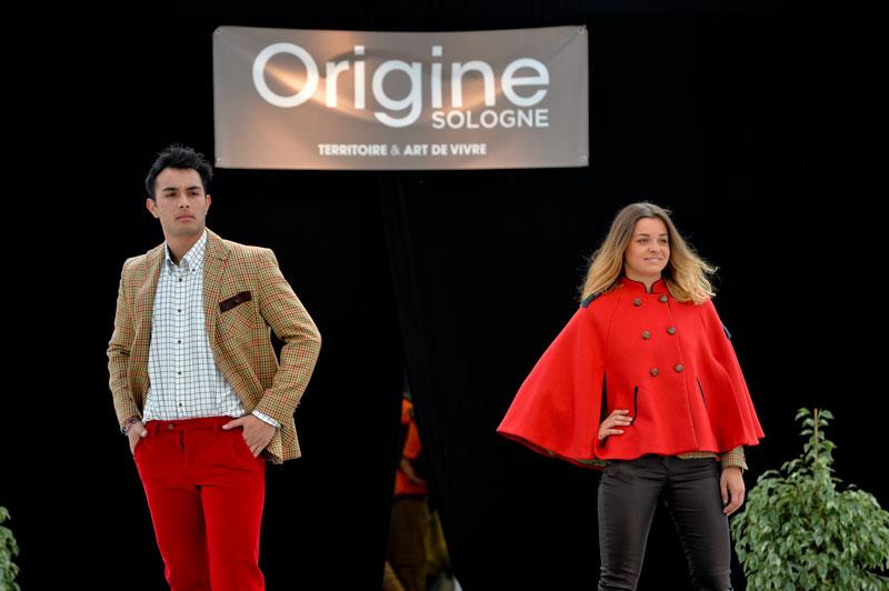 Défilé de mode au Game Fair à Lamotte-Beuvron