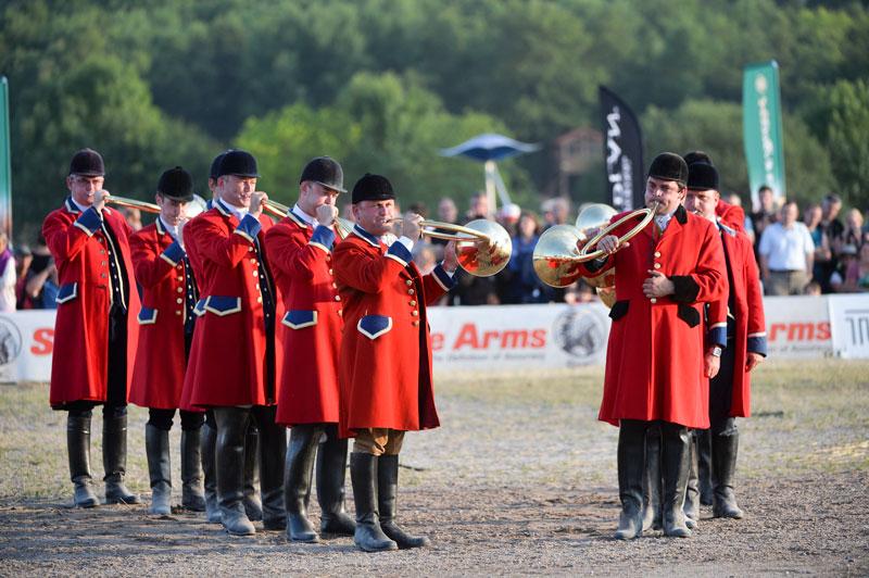 Concours de trompe de chasse au Game Fair à Lamotte-Beuvron
