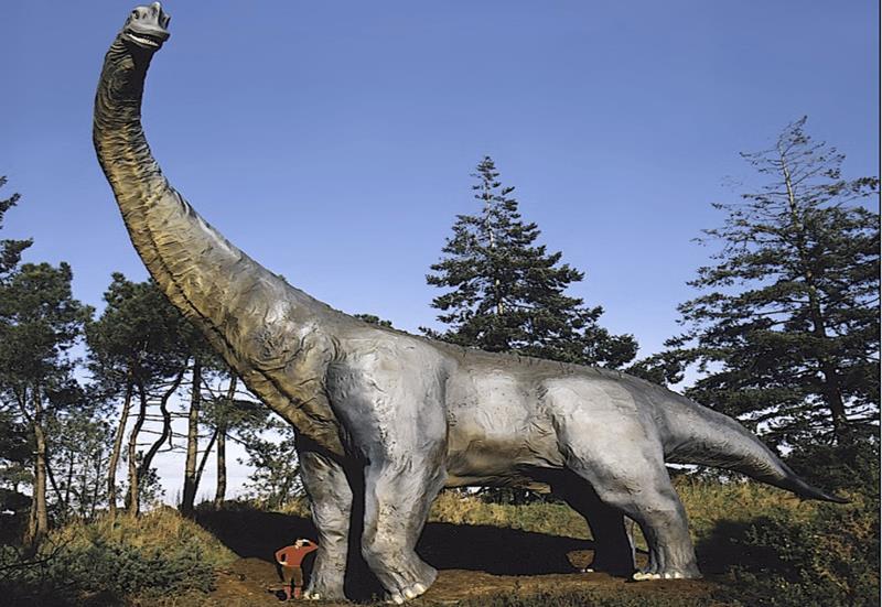 Les dinosaures sont à la fête au Parc de Préhistoire de Bretagne