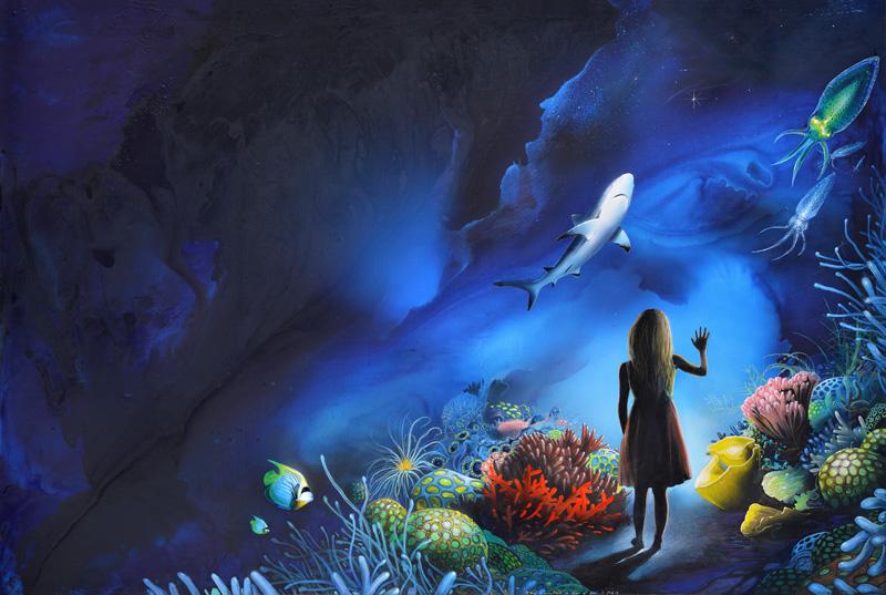Galerie des Lumières © JM Benier / Aquarium de La Rochelle