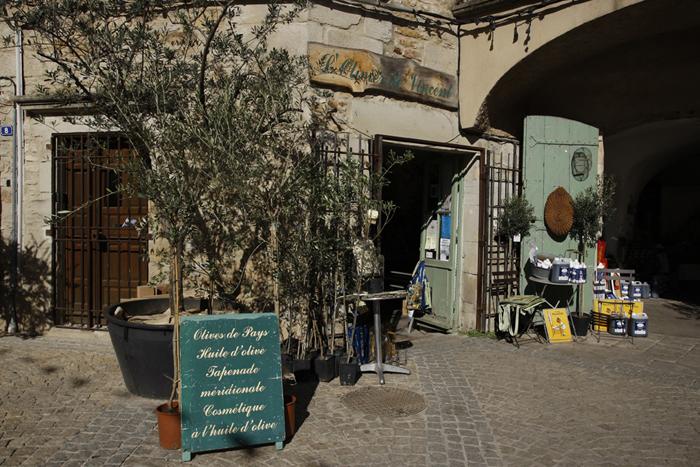 À Les Vans en Ardèche, royaume de l'olive
