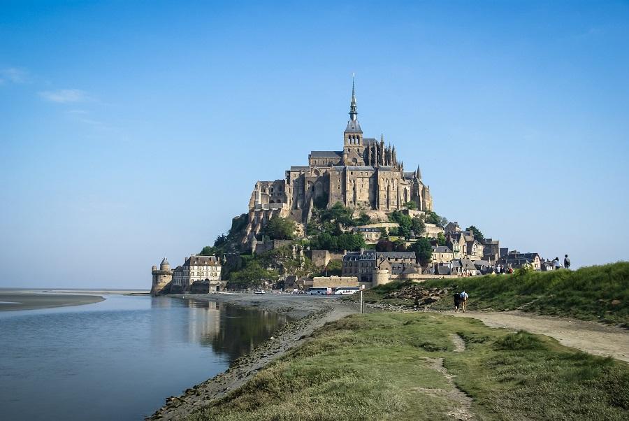 Le célèbre Mont Saint-Michel