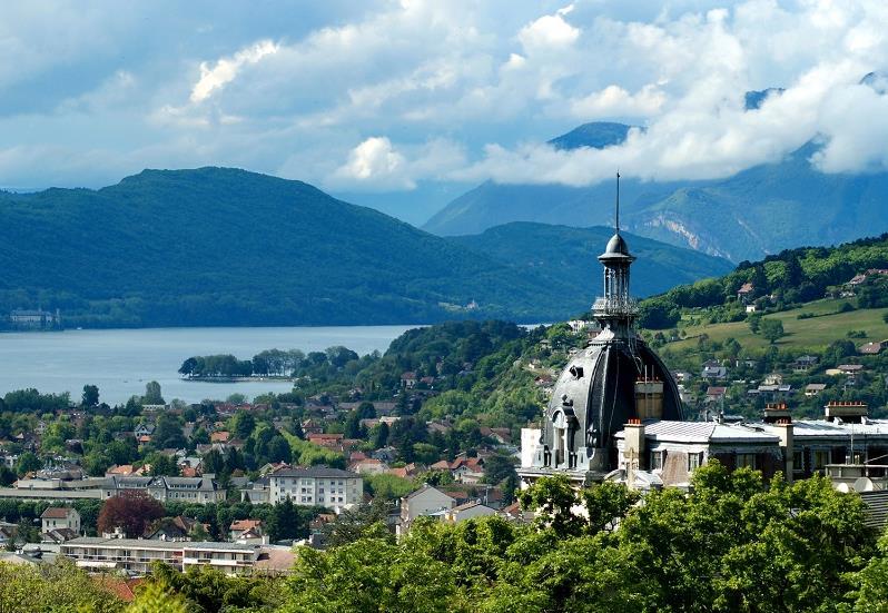 Aix-les-Bains en Savoie