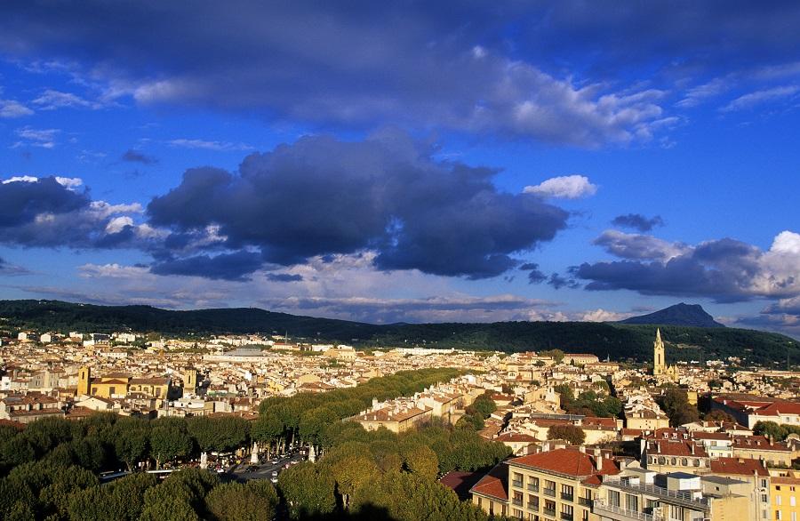 La ville d'Aix-en-Provence