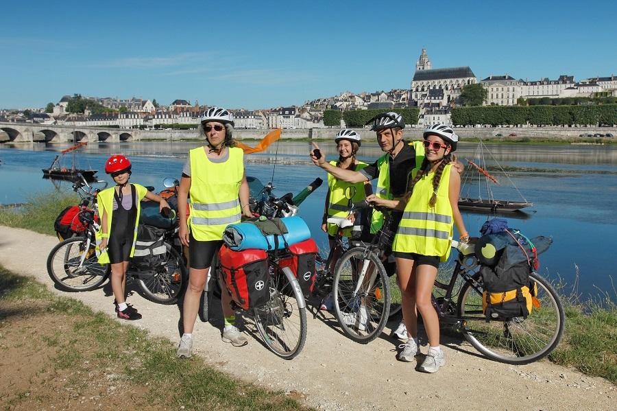 Randonnée vélo en famille sur l'EuroVelo 6