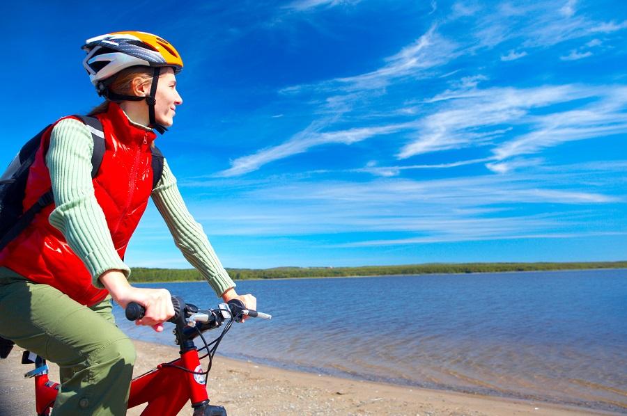Le long de l'itinéraire cycliste la Vélodyssée