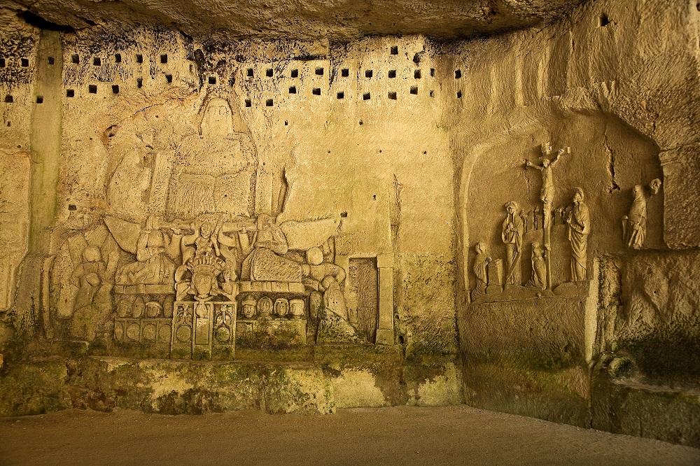La grotte du jugement dernier à Brantôme