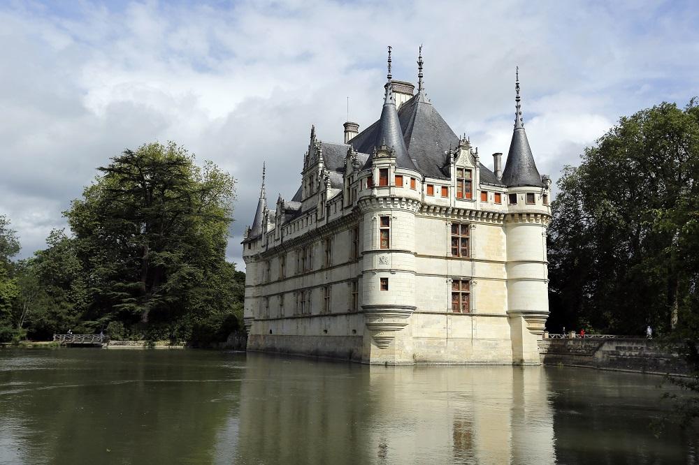 Le Château d'Azay-le-Rideau  en Indre-et-Loire