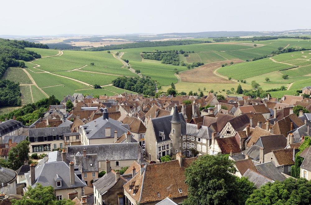 Le village viticole de Sancerre dans le Cher