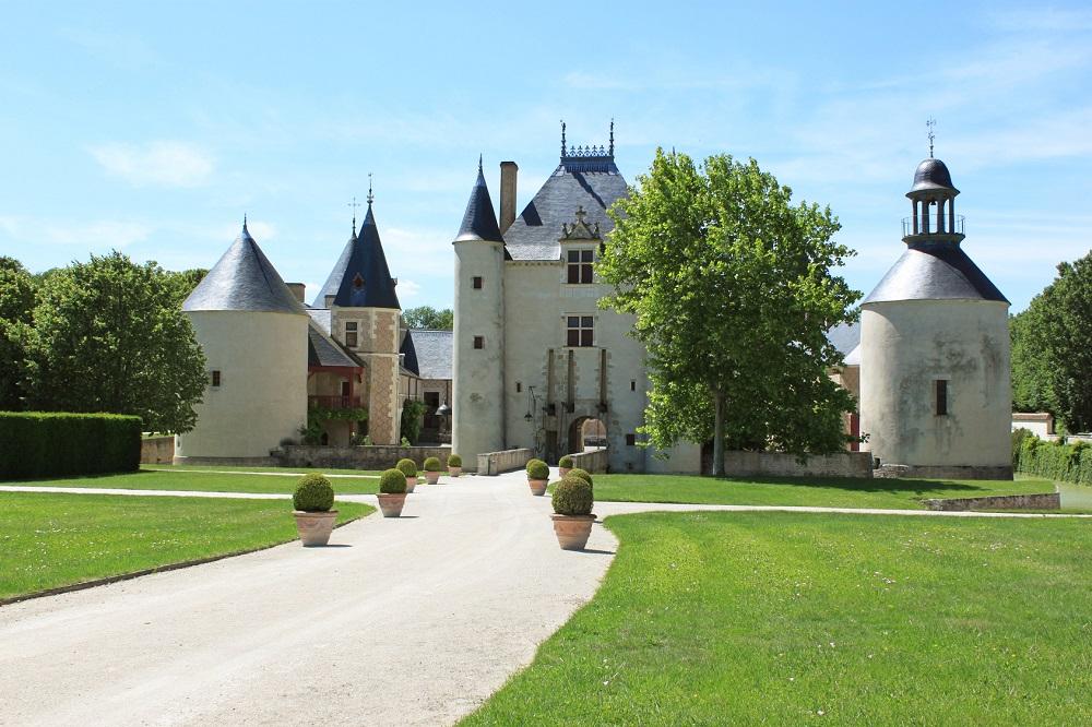 Le Château de Chamerolles à Chilleurs-aux-Bois