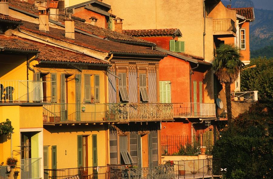 Le village de Sospel  sur la route du Piémont