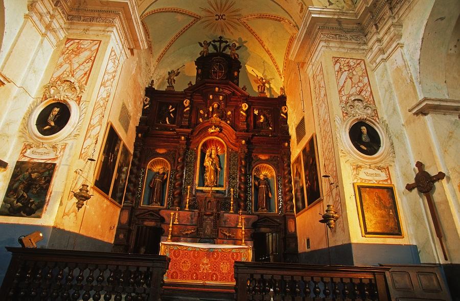 Le couvent des Franciscains à Saorge