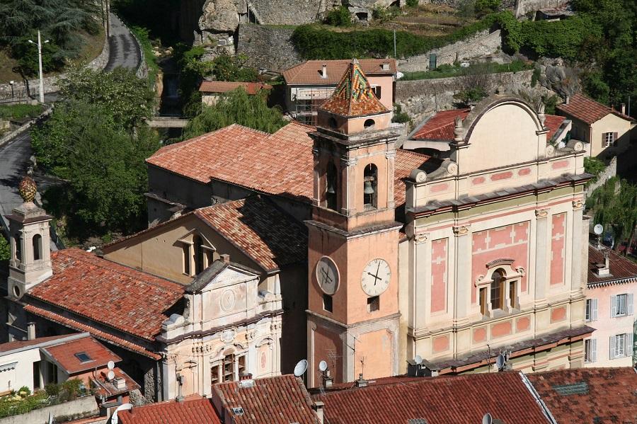 L'église Sancta-Maria-in-Albis à Breil-sur-Roya