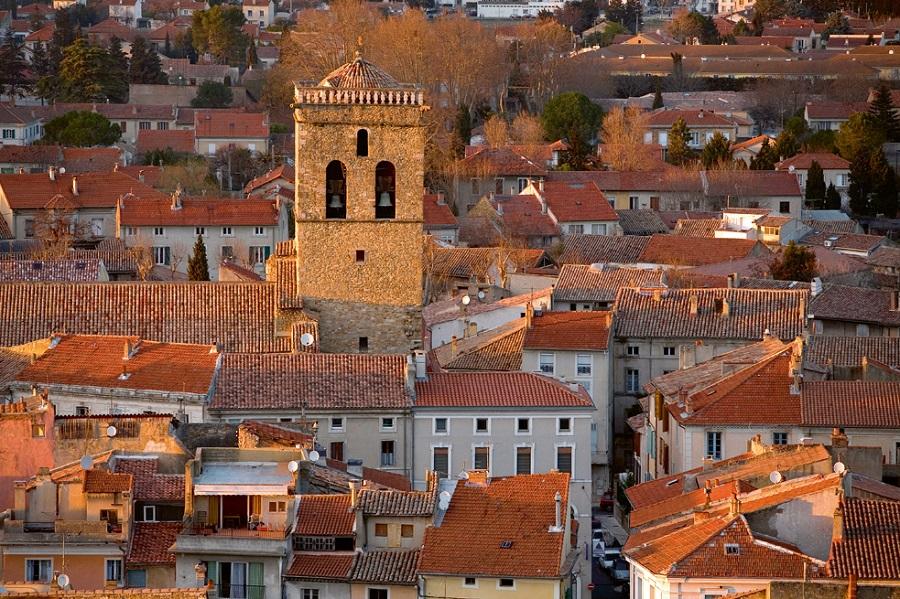Orange et sa cathédrale Notre-Dame-de-Nazareth