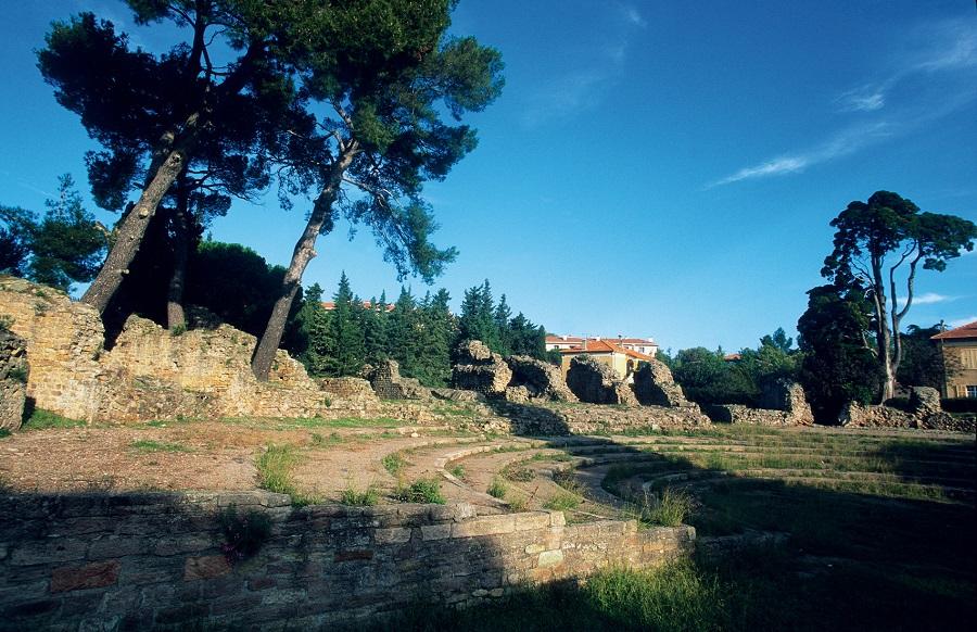 Le théâtre romain de Fréjus