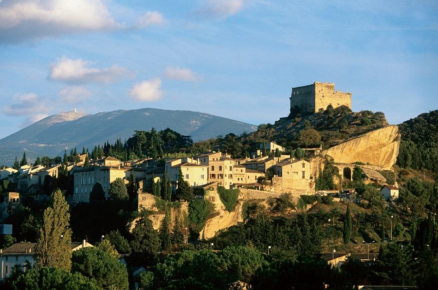 Le château des Comtes de Toulouse à Vaison-la-Romaine