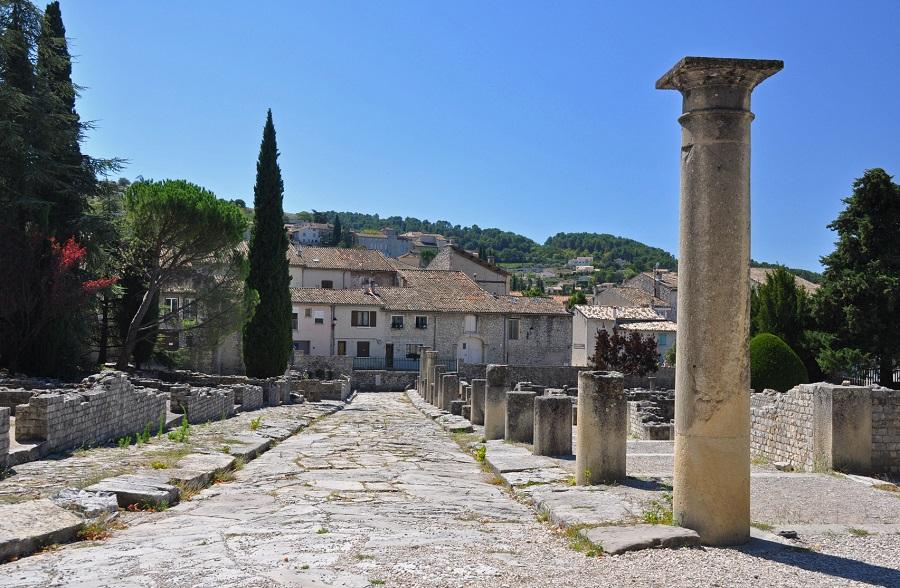 Les vestiges romains de Vaison-la-Romaine