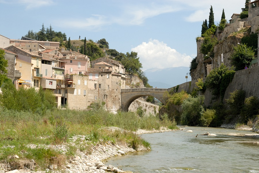 Pont gallo-romain à Vaison-la-Romaine