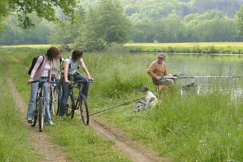Sur les chemins de halage du canal du Nivernais