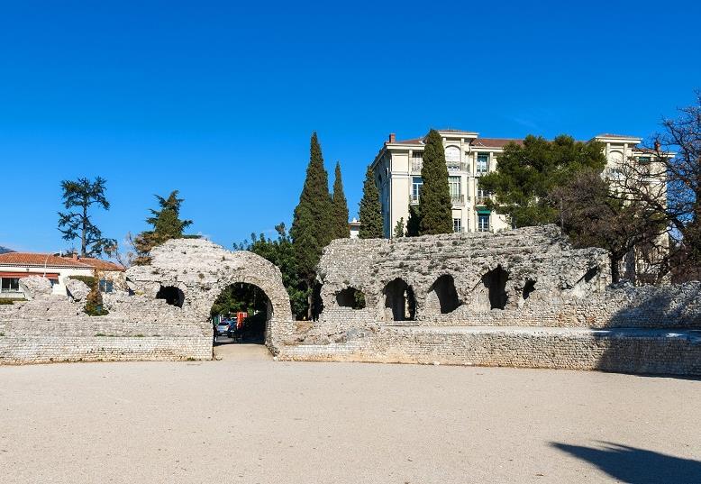 Les arènes romaines de Cimiez à Nice