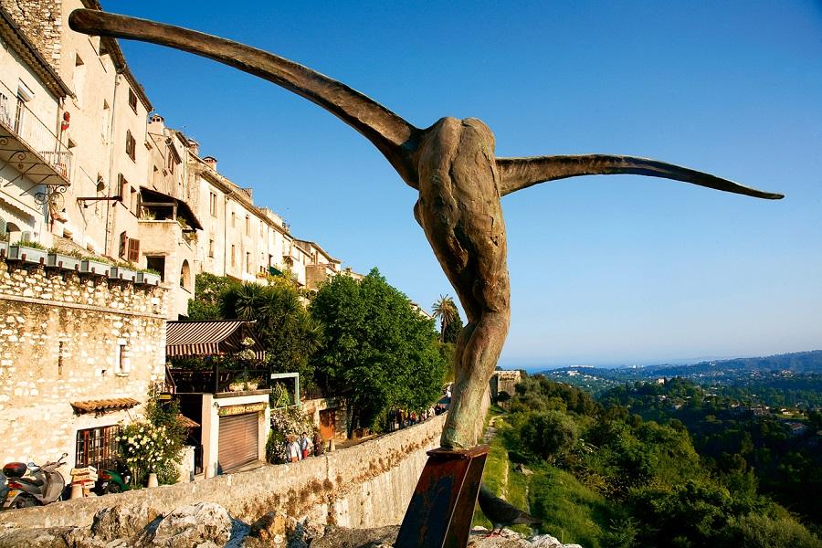 L'Envol, sculpture de Fondacaro à Saint-Paul de Vence