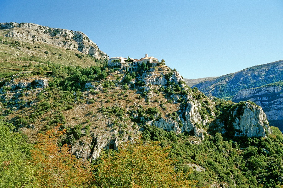 Le village perché de Gourdon