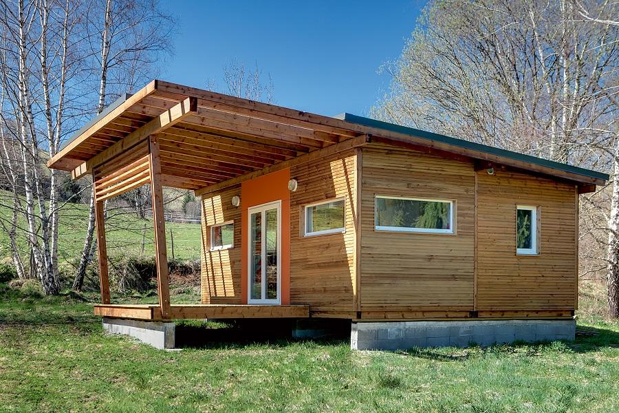 Le chalet, hébergement en bois