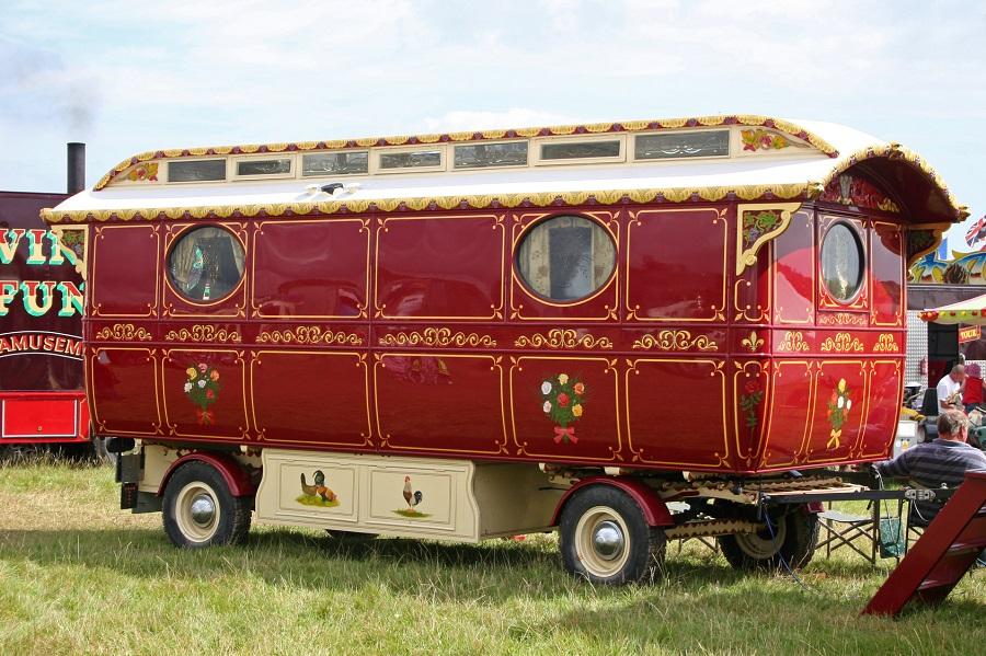 La roulotte, hébergement original